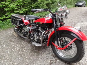 Harley Davidson WLA Bj. 1942